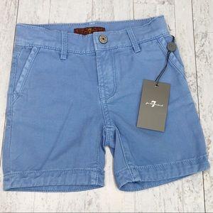 7FAM Blue Shorts NWT 18 Mos